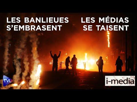 I-Média n°295 – Les cités s'embrasent, les médias se taisent