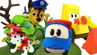 Leo Lastwagen. Paw Patrol Spielzeuge. Videos für Kinder.
