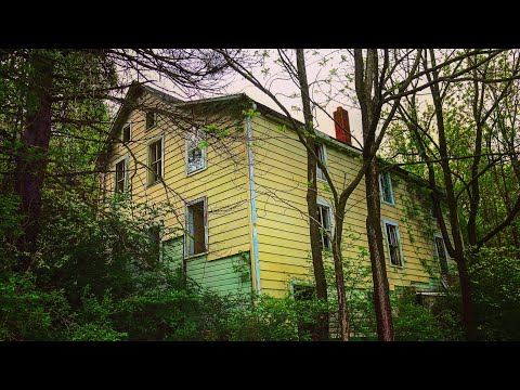 ODD Abandoned House In the Middle of the Woods Full of Stuff