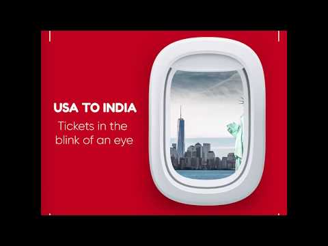 Book Flights from USA to INDIA at Lowest Airfare | Taj Travel