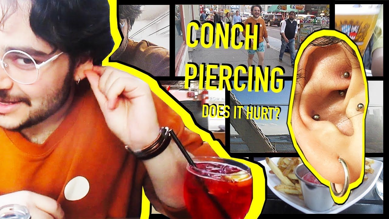 Conch Piercing Does It Hurt Youtube