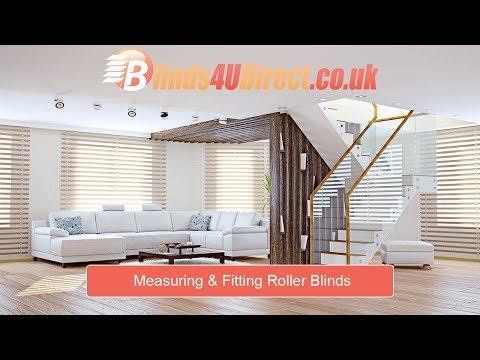 How to Measure and Fit Roller Blinds