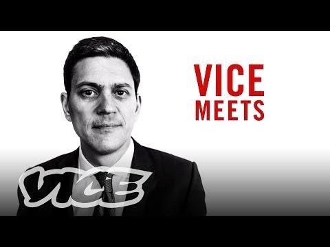 VICE Meets British Politician and Humanitarian David Miliband