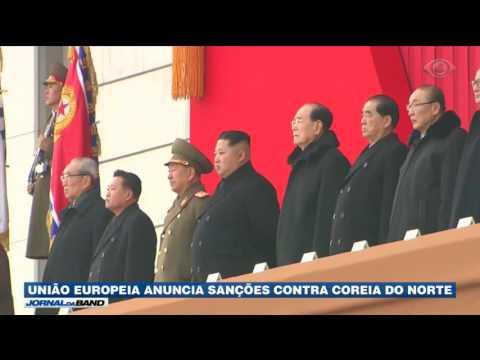 União Europeia Anuncia Sanções Contra Coreia Do Norte