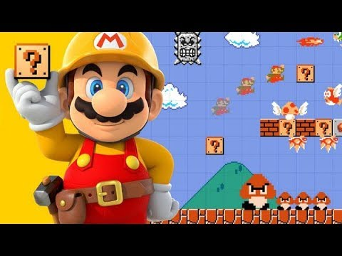 Super Mario Maker 100 Man and Your Levels!