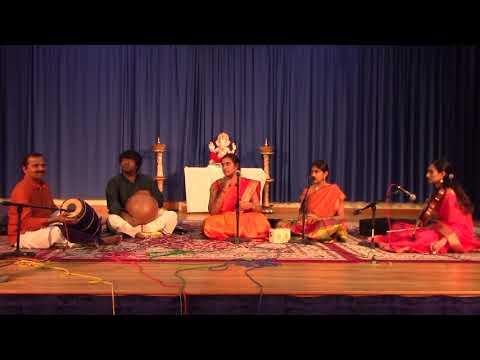 Thyagaraja Aradhana 2018 Concert by S Aishwarya - Great Grand daughter of Smt. M.S Subbalakshmi