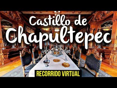 Castillo de Chapultepec, recorrido virtual  ¿Qué ver en el castillo?