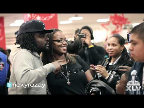 RICK ROSS SUPER BOWL VLOG 2: WALE SIGNS TO MAYBACH MUSIC