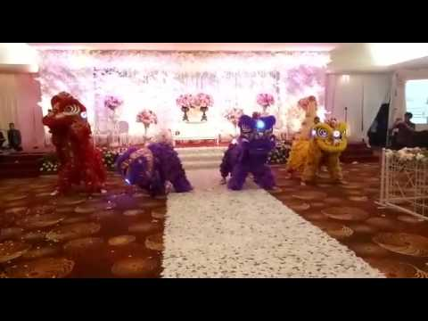 Resepsi Pernikahan-Brevy&Karen(27-05-2017)Aston Pontianak,YPKK Lion Dance