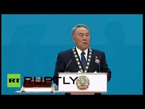 Kazakhstan: President Nazarbayev sworn in for fifth term in office