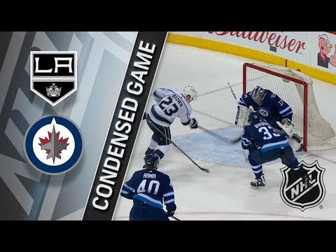Los Angeles Kings vs Winnipeg Jets – Feb. 20, 2018 | Game Highlights | NHL 2017/18. Обзор