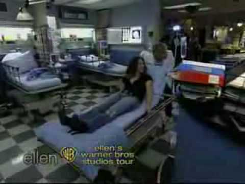 Ellen Degeneres on the ER set  11305