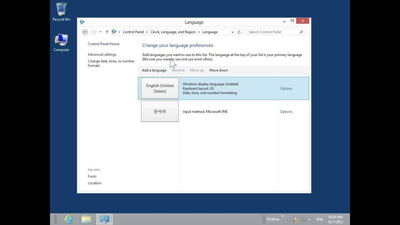 Windows 8 desktop version display non unicode programs in their windows 8 desktop version display non unicode programs in their native language sciox Choice Image