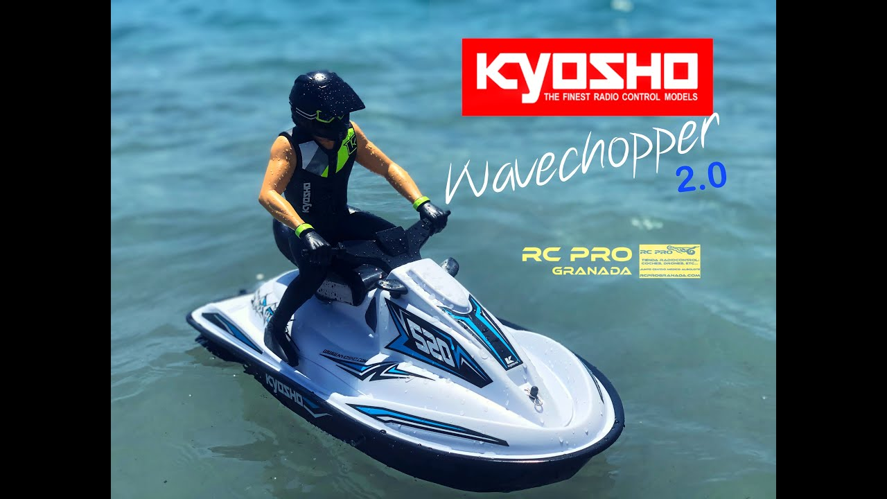 Kyosho Wavechopper 2.0 Moto de agua escala 1:6 Vistazo y Prueba RCPROGRANADA