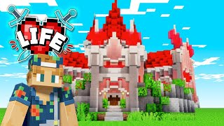 My Queen Of Hearts Castle Reveal!! | Minecraft X Life #31