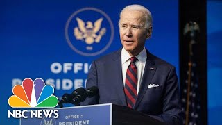 Biden Delivers Remarks On Public Health And The Economy | NBC News