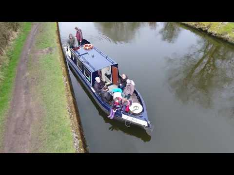 Ellerbeck Narrowboat Canal Trip Vlog