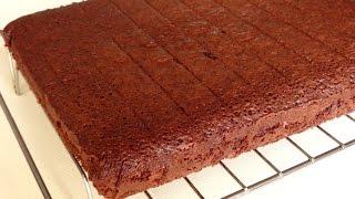 Шоколадный бисквит рецепт.  Идеальный шоколадный бисквит с настоящим шоколадом!!