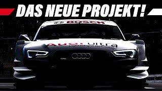 Das neue Projekt / DTM Ankündigung: RaceRoom Racing Experience Infovideo | 4K Gameplay German