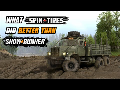 12 Things that Spintires did better than Snowrunner  