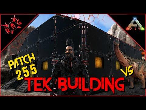 ARK: TEK BUILDING [TEK TILESET] Patch 255 [vs Titanosaur??]
