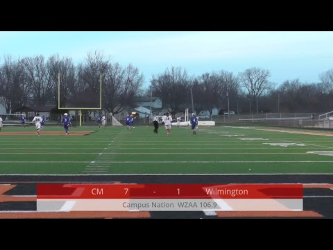 High School Lacrosse - Clinton-Massie Falcons @ Wilmington Hurricane - 04-11-2018