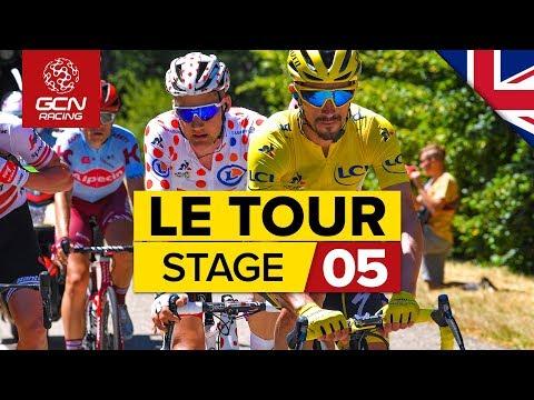 Tour de France 2019 Stage 5 Highlights: Saint-Die-Des-Vosges – Colmar | GCN Racing