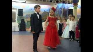 Детский бал 2011 в 'Школе Обаяния', г.Днепропетровск