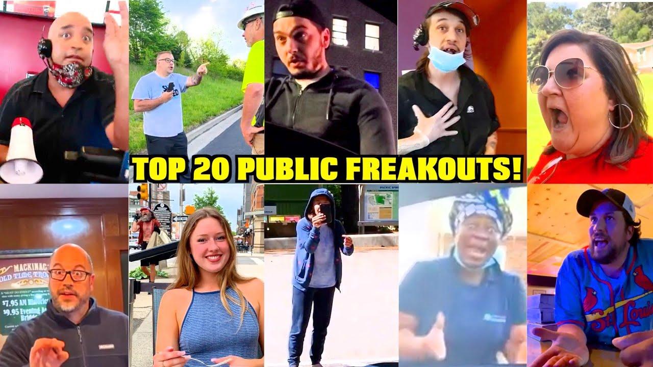 Top 20 Public Freakout Videos You WONT BELIEVE EXIST 😱