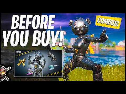 New METAL TEAM LEADER PACK Gameplay + Combos! Out July 2! Before You Buy (Fortnite Battle Royale)