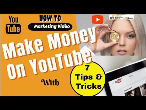 how-to-make-money-on-youtube---top-7-steps-|-success-net-profit-apsense-youtube-video-tutorials