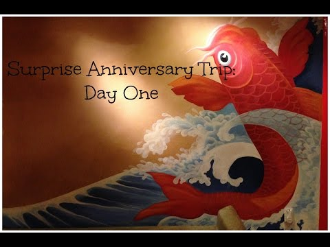 Surprise Anniversary Trip Day One:Boardwalk Inn,Downtown DIsney