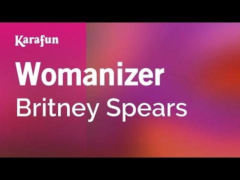 Karaoke Womanizer  Britney Spears *