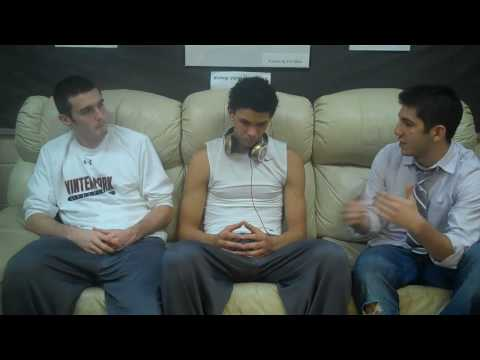 Austin Rivers interview as a Florida Gator commit with Brett Comer FAU Dan Poneman 2009