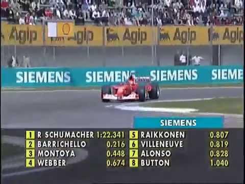 F1 Imola 2002 M Schumacher Ferrari F2002