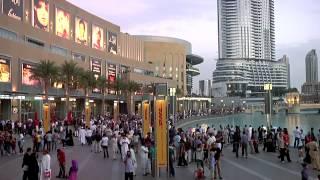 The Dubai Mall & The Dubai Fountain