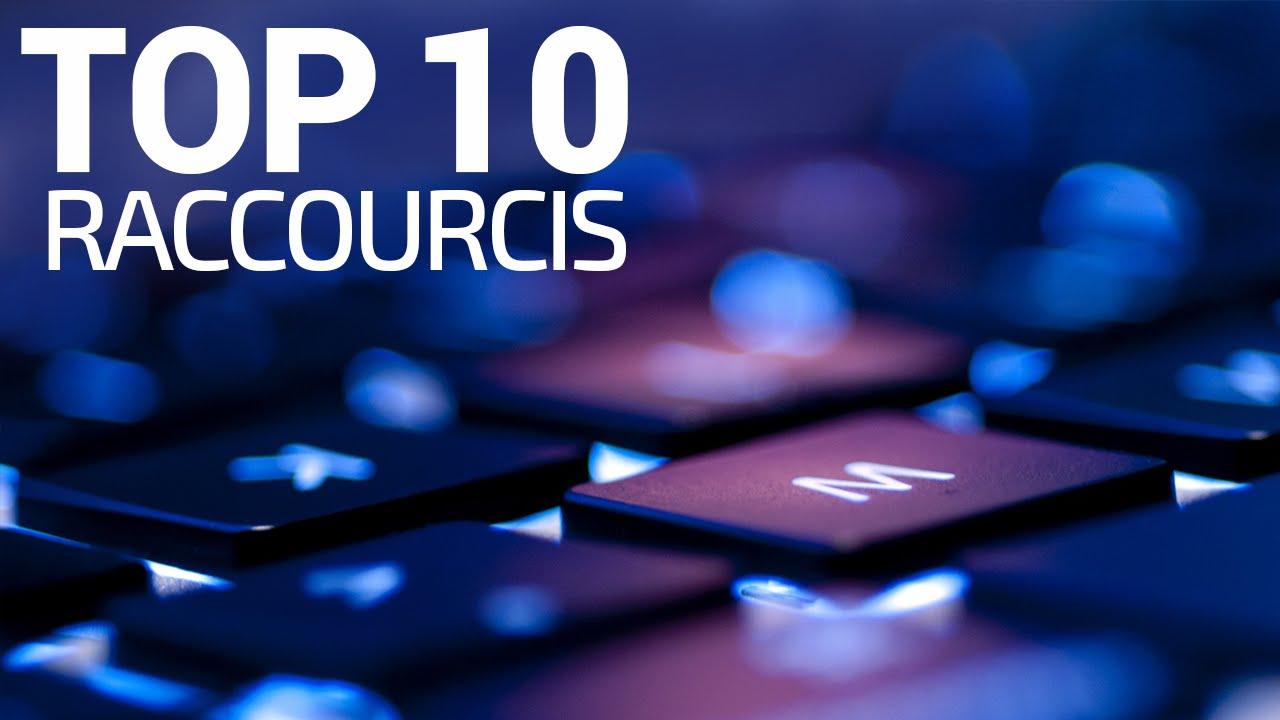 Top 10 des meilleurs raccourcis clavier windows 10 8 7 for Raccourci clavier agrandir fenetre windows 7