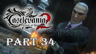 Castlevania Lords of Shadow 2 Gameplay Walkthrough Part 34 -  Boss Zobek
