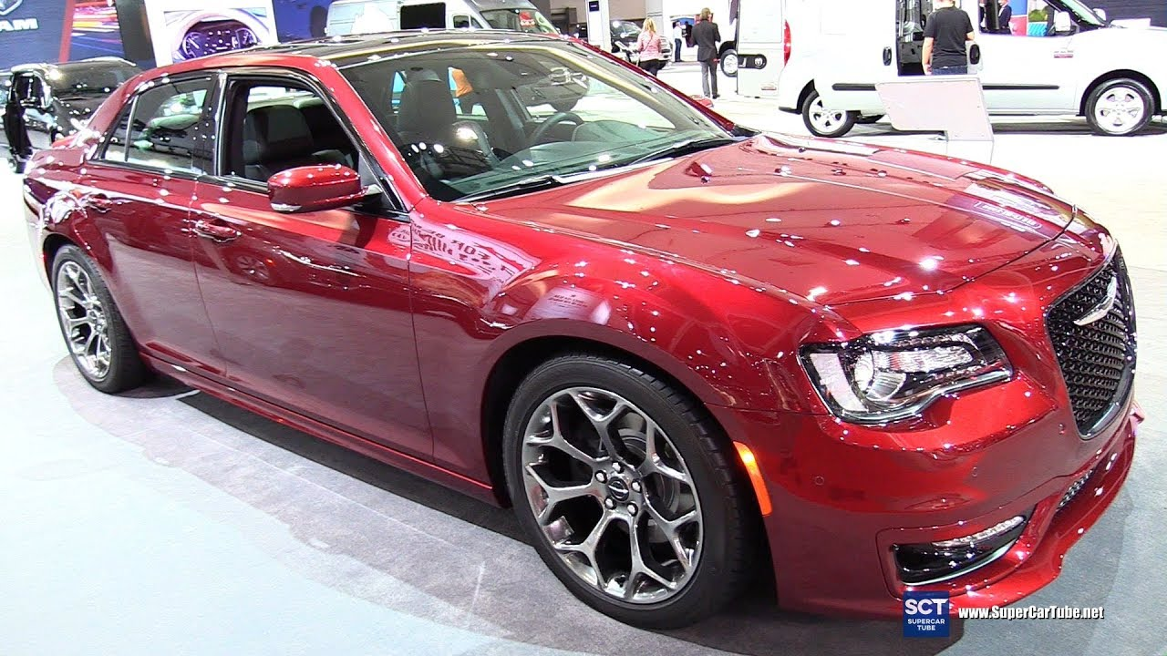 2018 Chrysler 300s Exterior And Interior Walkaround 2017 La Auto Show