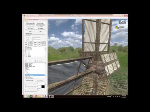 Mount & Blade: Warband Mapping / Scene making Tutorial!