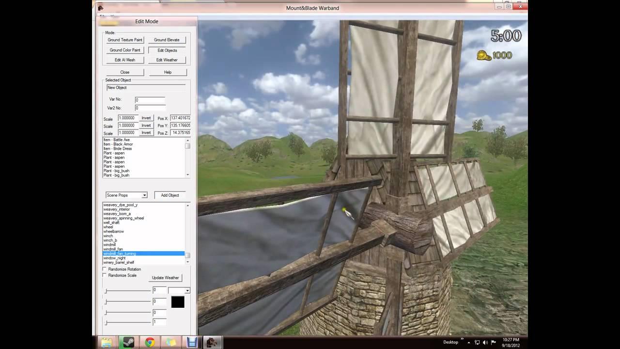 Mount blade warband mapping scene making tutorial youtube gumiabroncs Choice Image