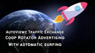 how to use autoviewz autosurf traffic exchange and coop advertising swervice