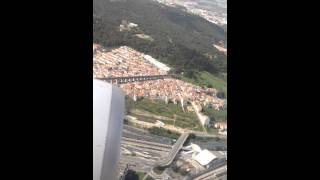 Forte turbulência na hora do pouso em Lisboa . TAP Portugal