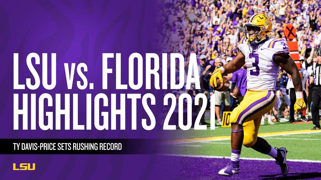 Download LSU Football vs. Florida - Game Highlights (10/16/21)