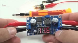 Video Regulador de Tensão Ajustável LM2596 Step Down DC-DC com Display - Arduino download MP3, 3GP, MP4, WEBM, AVI, FLV Juli 2018