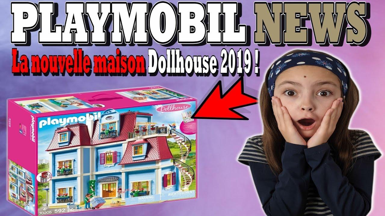 playmobil news la nouvelle grande maison traditionnelle dollhouse 70205
