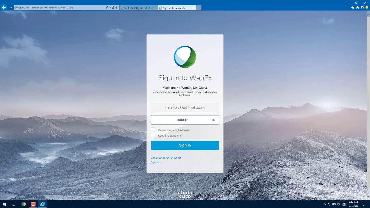 Fixing WebEx Error 1476