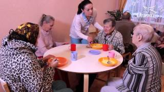 видео пансионат для пожилых с болезнью альцгеймера