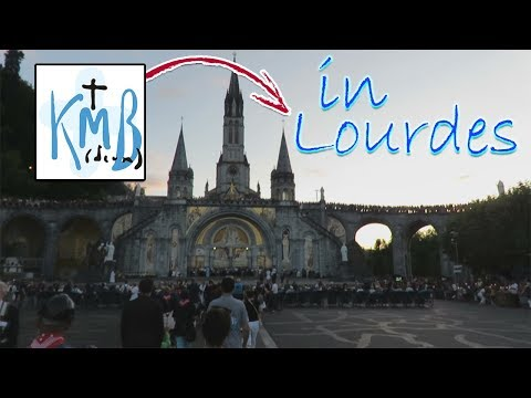 Te Lourdes op de bergen