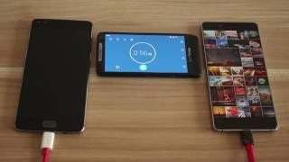 Oneplus 3 VS. Nubia Z11 - Battery life & Charge Speed Test